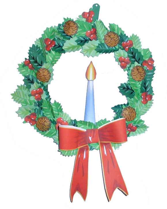 Holiday Christmas Wreath