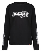 Load image into Gallery viewer, Motogirl Long Sleeve T-Shirt - MotoGirl Ltd
