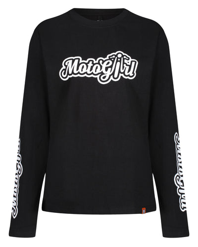 Motogirl Long Sleeve T-Shirt - MotoGirl Ltd