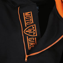 Load image into Gallery viewer, Helmet Hoodie - Black/Orange