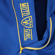 Load image into Gallery viewer, Helmet Hoodie - Blue/Yellow