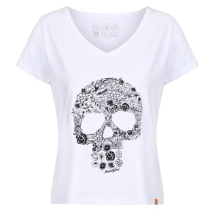 Flower Skull - MotoGirl Ltd