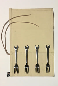 Wrench Cake Fork Set of 4