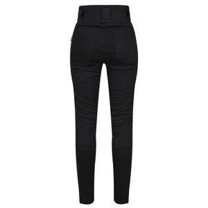 Ribbed Knee Leggings - MotoGirl Ltd