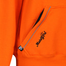 Load image into Gallery viewer, Orange Hoodie - MotoGirl Ltd