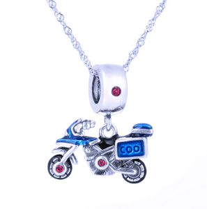 Touring Motorcycle Charm