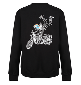 Flying Retro Sweatshirt