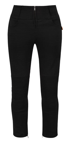 Leggings (Silver Zip) - MotoGirl Ltd