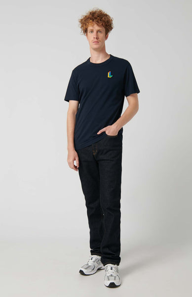 T-SHIRT ELES B-NAVY