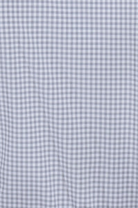 Men's Long Sleeve Dress Shirt - Light Grey Gingham