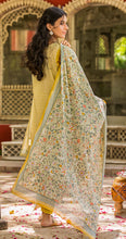 Load image into Gallery viewer, Unstitched 3 Piece Embroidered Lawn with Chiffon Suit