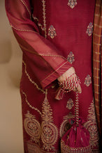 Load image into Gallery viewer, 3 PC Unstitched Khaddi Net Suit with Khaddi Net Jacquard Dupatta