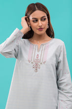 Load image into Gallery viewer, Stitched 1 Piece Embroidered Zari Lawn Shirt