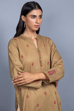Load image into Gallery viewer, Stitched 1 Piece Embroidered Karandi Shirt