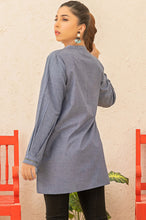 Load image into Gallery viewer, Stitched 1 Piece Chambray Shirt
