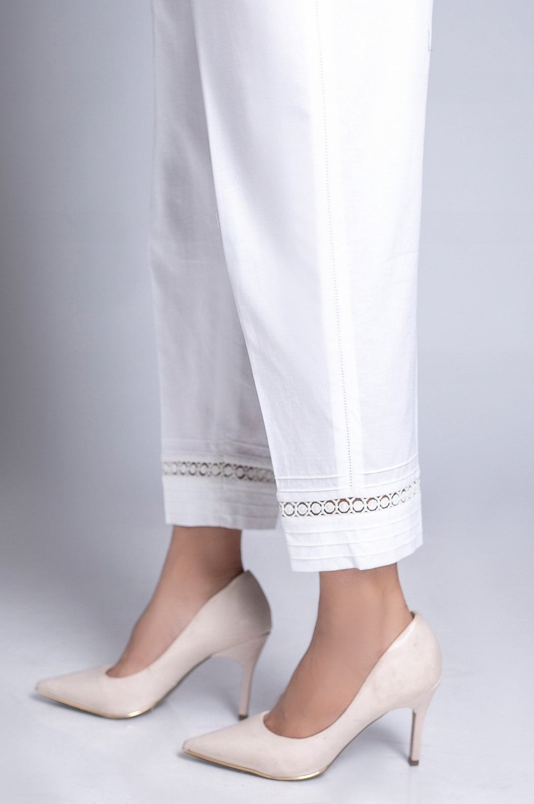 Capri Pants - White
