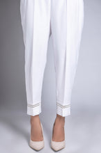 Load image into Gallery viewer, Capri Pants - White