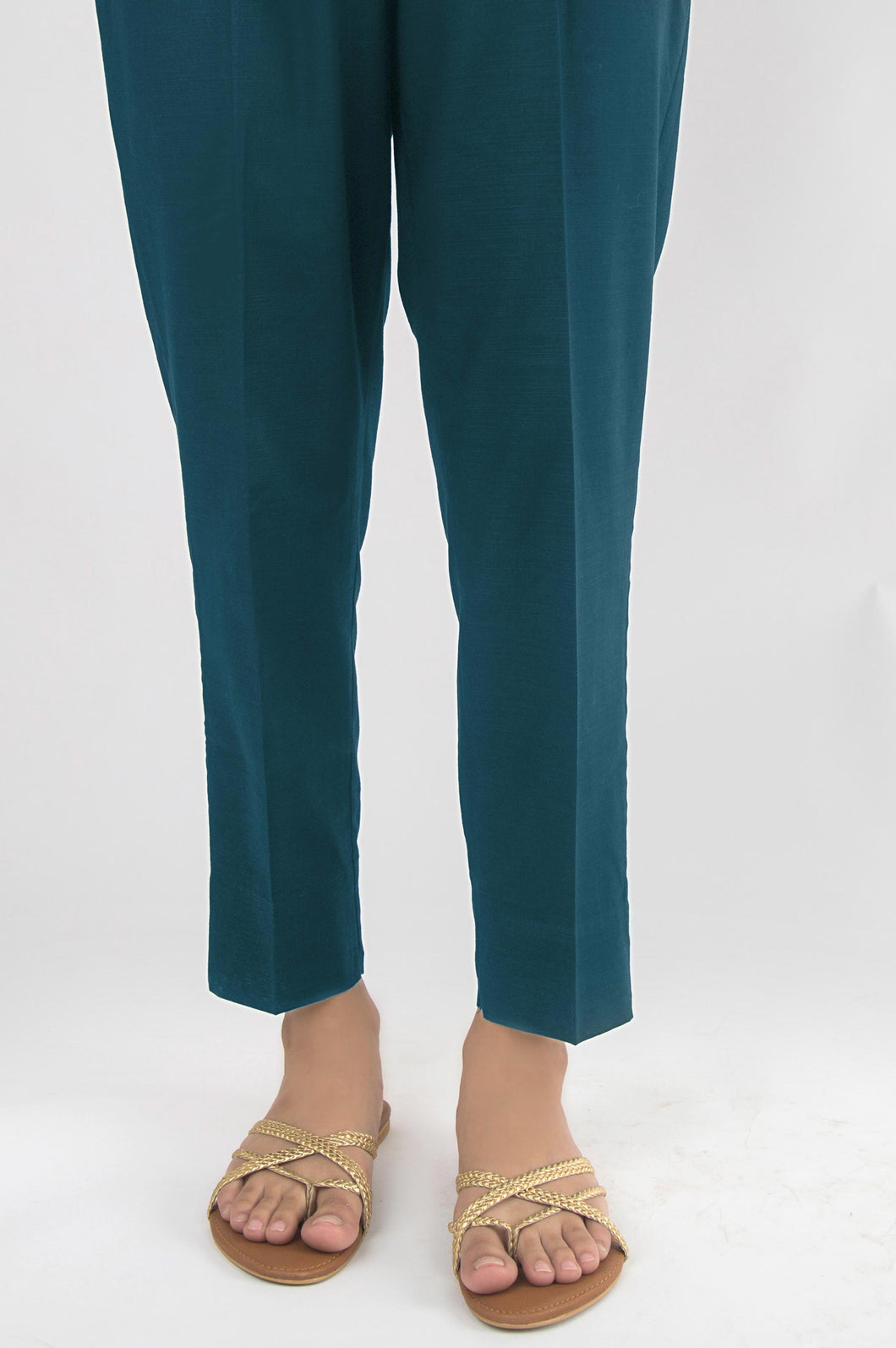 Unstitched Cambric Bottom - Teal