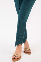 Load image into Gallery viewer, Embellished Cottel Pants - Teal