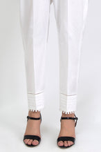 Load image into Gallery viewer, Embellished Cigarette Pants - White