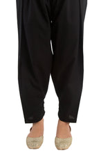Load image into Gallery viewer, Cambric Shalwar - Black