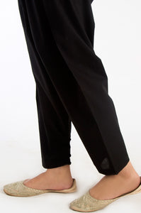 Cambric Shalwar - Black