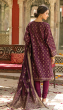 Load image into Gallery viewer, Unstitched 3 Piece Yarn Dyed Jacquard Suit