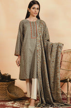Load image into Gallery viewer, Unstitched 2 Piece Printed Khaddar Suit