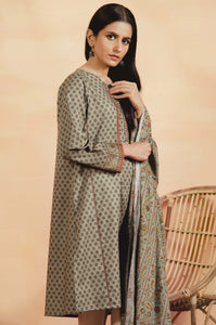 Unstitched 2 Piece Printed Khaddar Suit