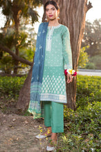 Load image into Gallery viewer, Unstitched 3 Piece Embroidered Lawn Suit