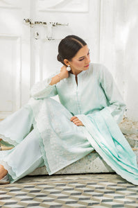 Unstitched 3 Piece Lawn Chikankari Suit