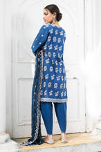 Load image into Gallery viewer, Unstitched 3 Piece Lawn Chikankari Suit