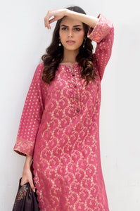 Unstitched 3 Piece Jacquard Suit