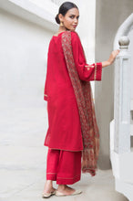 Load image into Gallery viewer, Unstitched 3 Piece Embroidered Jacquard Suit