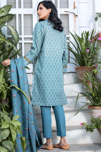 Unstitched 3 Piece Embroidered Karandi Suit