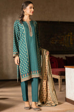 Load image into Gallery viewer, Unstitched 3 Piece Embroidered Linen Viscose Suit
