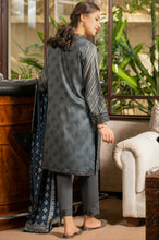 Load image into Gallery viewer, Unstitched 3 Piece Printed Linen Viscose Suit