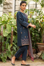 Load image into Gallery viewer, Unstitched 3 Piece Embroidered Lawn Suit with Chiffon Dupatta