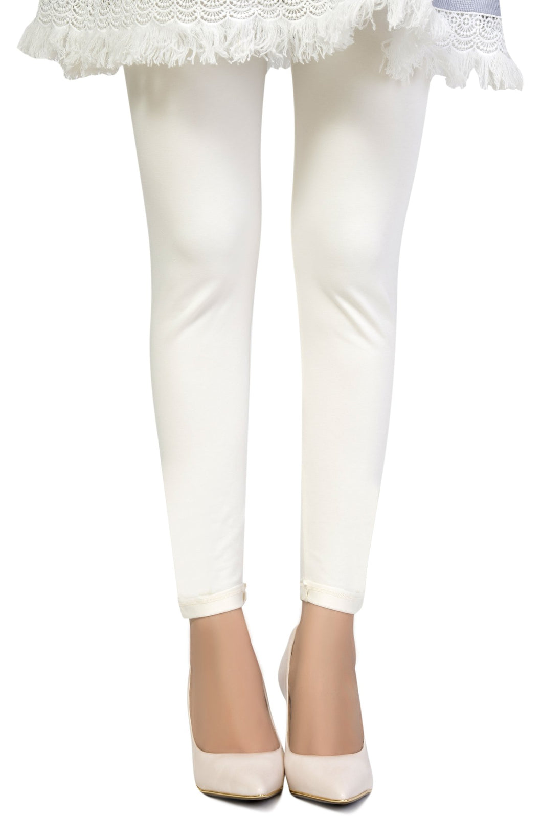 Zeen Cotton Legging - Off White