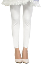 Load image into Gallery viewer, Zeen Cotton Legging - White