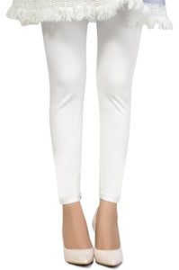 Zeen Cotton Legging - White
