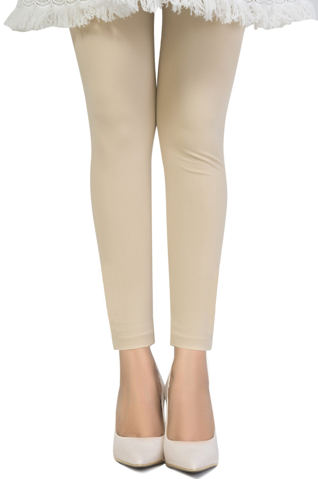 Zeen Cotton Legging - Sand Dollar