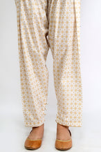 Load image into Gallery viewer, Embellished Cambric Shalwar - Gold Paste