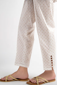 Cambric Embellished Cigarette Pants - Copper Paste