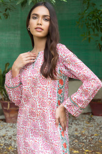 Stitched 1 Piece Printed Lawn Shirt