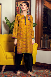 Stitched 1 Piece Digital Printed Khaddar Shirt