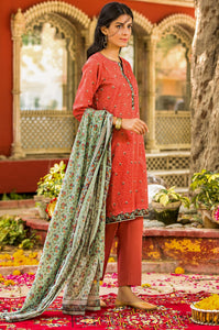 Stitched 2 Piece Digital Printed Lawn Suit