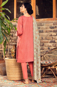 Stitched 2 Piece Embroidered Cottel Suit