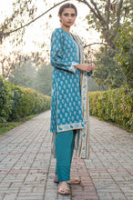Load image into Gallery viewer, Stitched 3 Piece Printed Lawn Suit