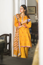 Load image into Gallery viewer, Stitched 3 Piece Embroidered Lawn Suit